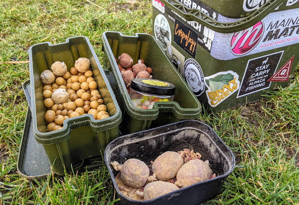 winter carp fishing - teampcf Matt Richardson